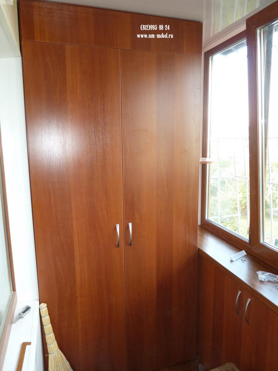 Шкафы на балкон на заказ дешево. - окна из пластика - катало.