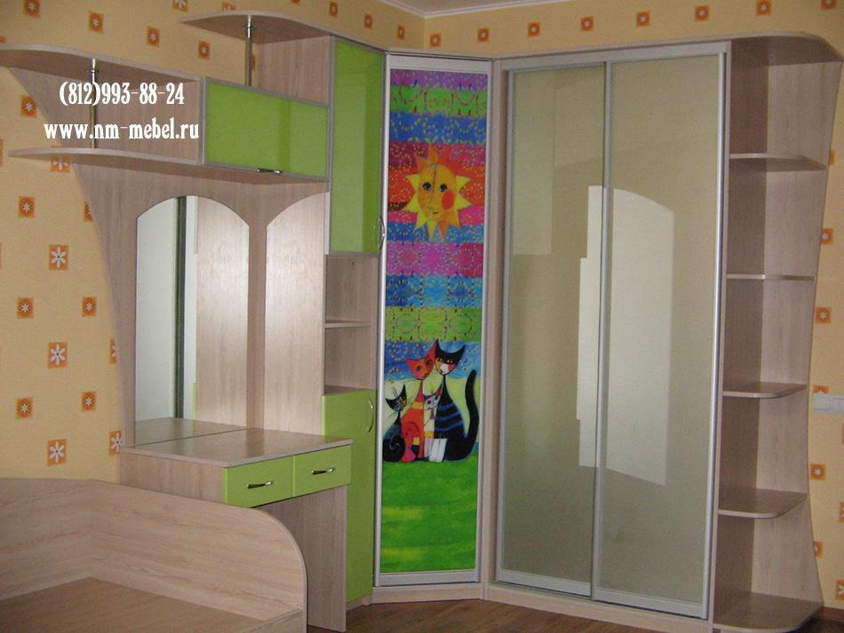Шкаф купе купить в детскую комнату