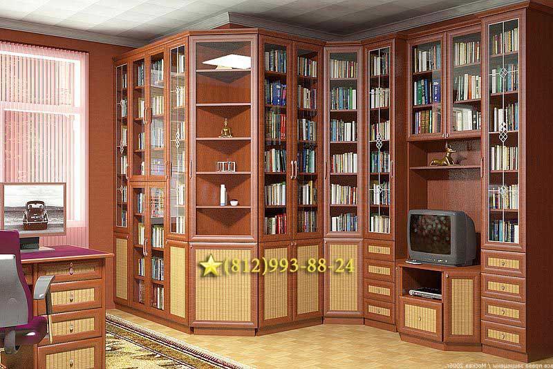 Книжные шкафы для домашней библиотеки - страница 2 - interio.