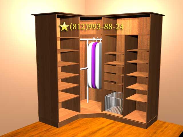 Угловые шкафы на заказ москва - главная идея.