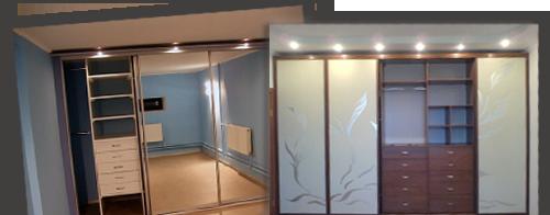 Шкафы купе   на длинные коридоры